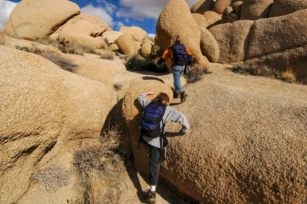 Pediatric & Adolescent Orthopedics Central AZ Orthopaedic Services boys climbing on boulders